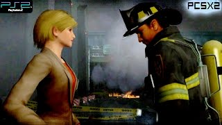 Firefighter F.D.18 -  PS2 Gameplay SD + FXAA (PCSX2)