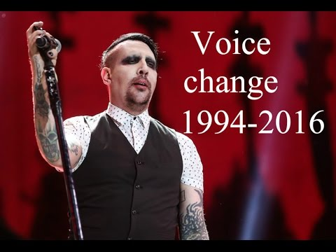 Marilyn Manson (Cambio de voz/Voice Change) (1994-2016)