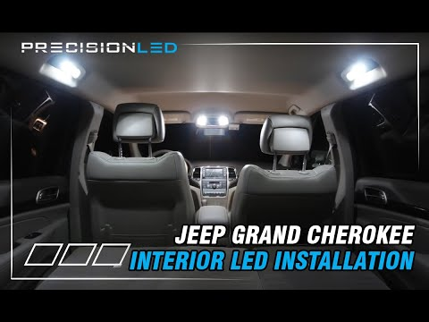 Jeep Grand Cherokee/Dodge Durango LED Interior- How to Install – 3rd-4th Generation 2010-