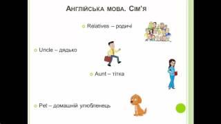 Англійська мова. Сім'я