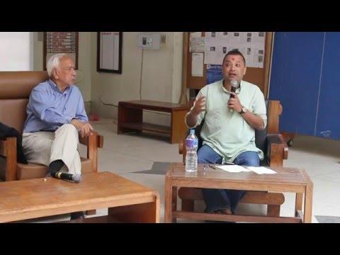 Kedar Bhakta Mathema, Gagan Thapa and Thakur Gaire in Conversation with Jiwan Kshetry