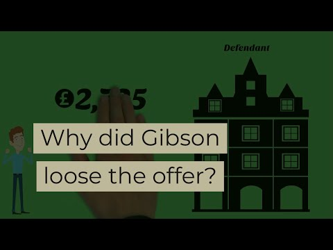gibson vs manchestor city council case In storer v manchester city council [1974] [11] the transaction had not yet been formally completed, but a similar standard 'agreement for the sale of a council house' as was discussed in the present case, had been completed and signed by mr storer it was then returned to, but not completed by, the council.