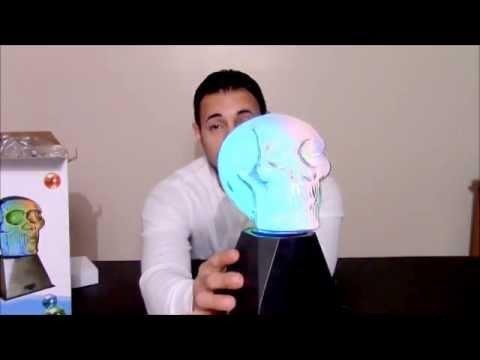 ROCKYMART.COM REVIEW OF: Skull color changing plasma on EBAY