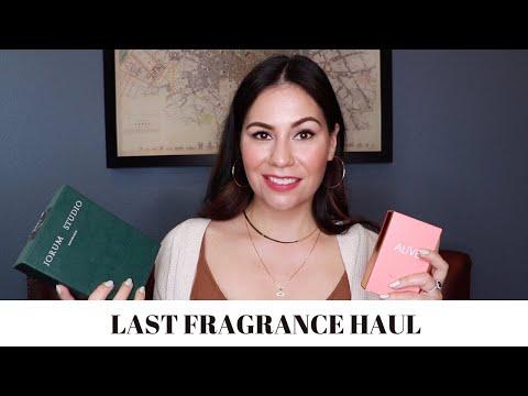 PERFUME HAUL | LAST FRAGRANCE HAUL 2020