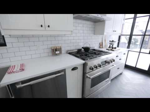 Interior Design — Crisp, Clean & Narrow Brooklyn-Style Galley Kitchen Renovation