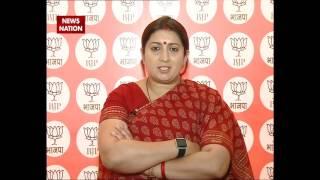 Smriti Irani credits PM Modi for BJP