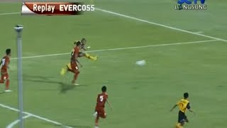 Beautiful Goal Adi Said Brunei U21 Player VS Indonesia U19 - 11 Agustus 2014
