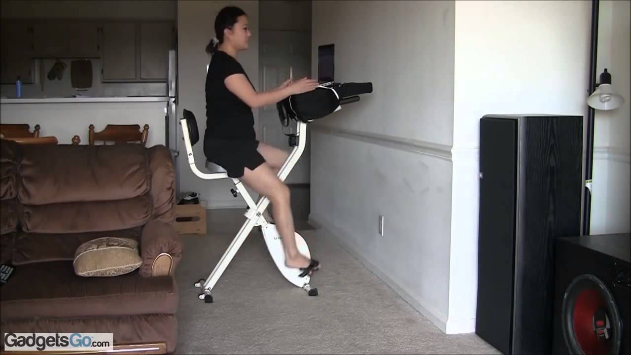 Fitdesk 2 0 Desk Exercise Bike With Massage Bar Review