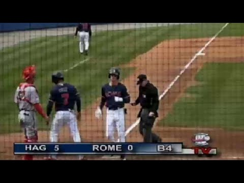 Waters delivers tworun dinger for Rome