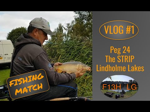 Match Fishing Vlog #1 - The Strip 24 @ Lindholme With Lynden Grimmett