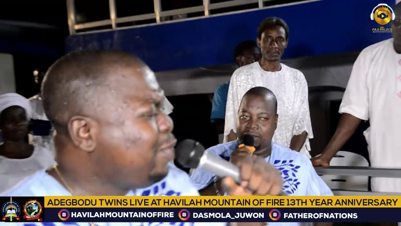 Download Adegbodu Twins Live At Havilah Mountain Of Fire 13th Anniversary