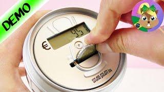 COFRE com CONTADOR   Cofrinho eletrônico e inteligente com calculadora   Super legal!