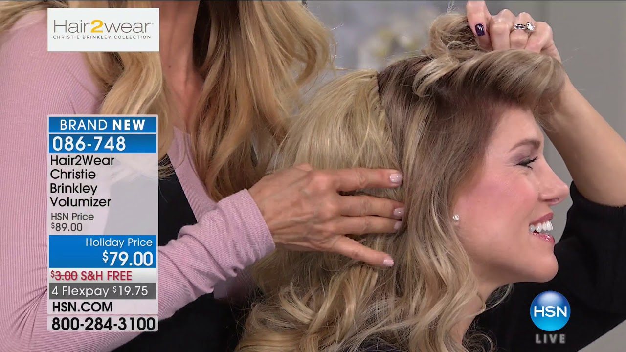 Hsn Christie Brinkley Hair Extensions Skincare 10102017 10