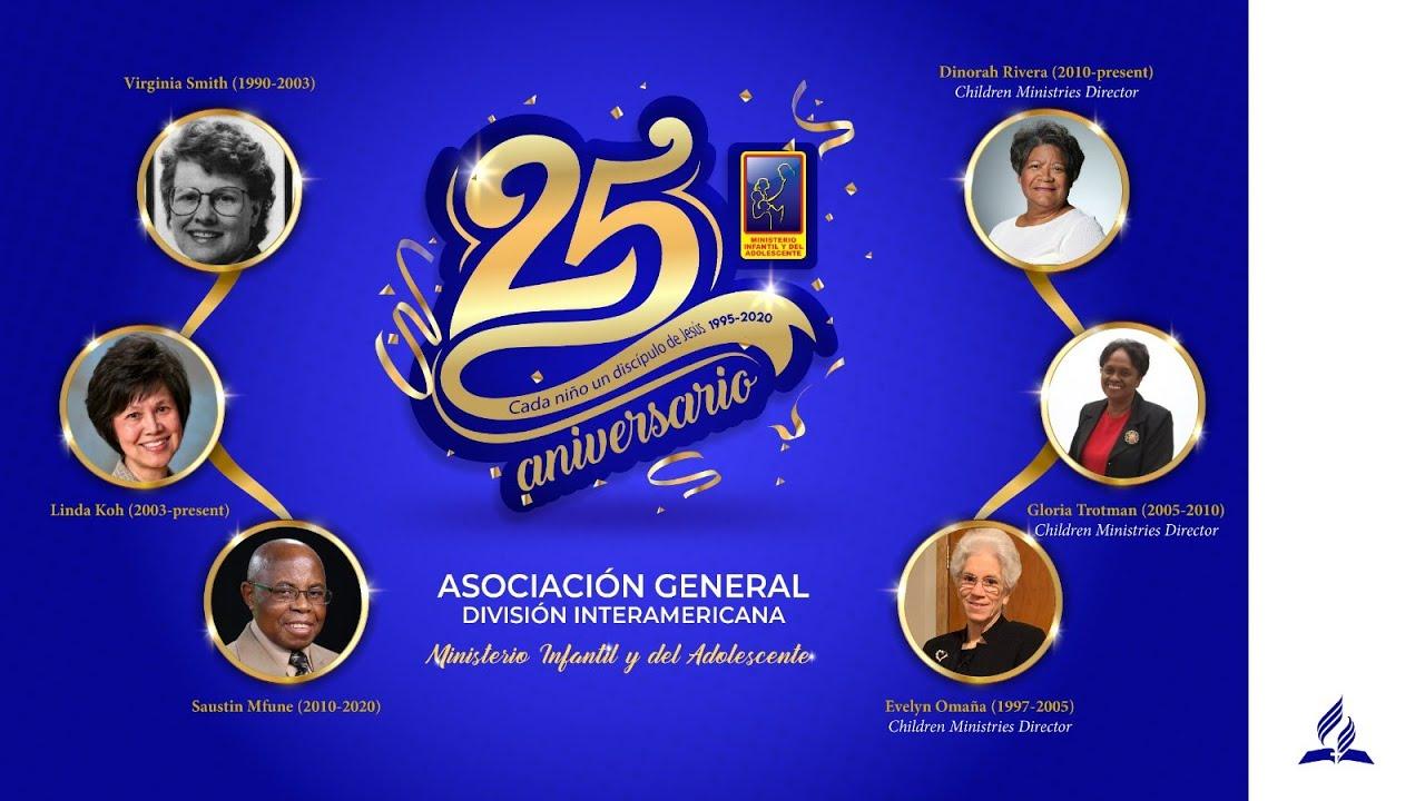 25 Aniversario del Ministerio Infantil y del Adolescente
