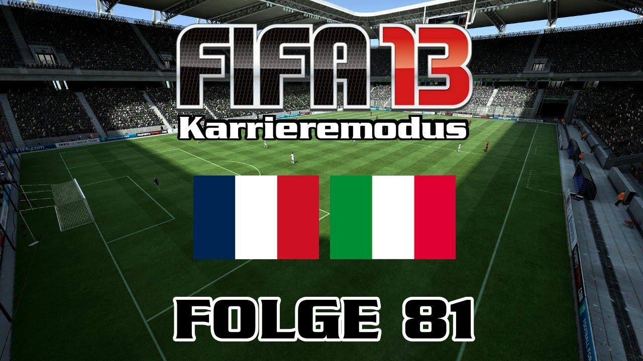 Frankreich Vs Italien