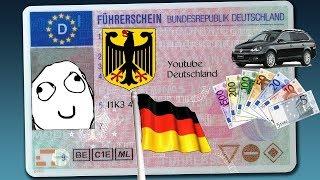 Получение водительских прав в Германии.