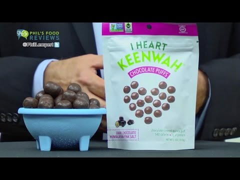 I Heart Keenwah Dark Chocolate Puffs Himalayan Pink Salt is MY PICK OF THE WEEK!