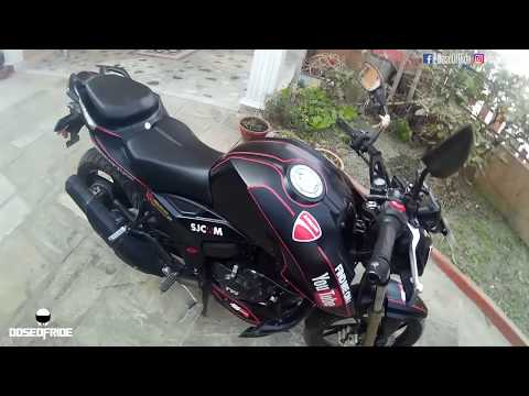 TVS Apache RTR 200 4V Modification Review | Kathmandu, Nepal | Review #1