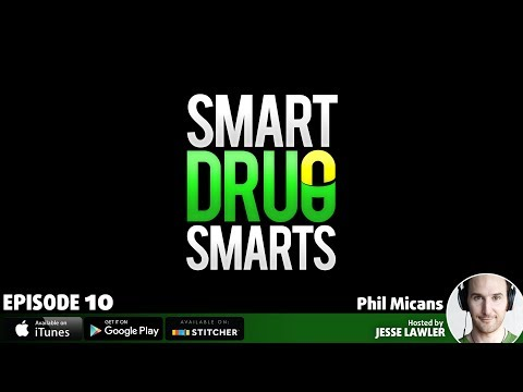 Episode 10 - Biochemist Phil Micans On The Racetam Family of Pharmaceuticals