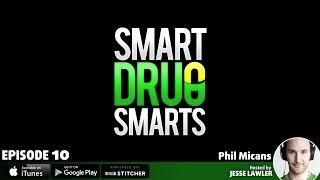 Episode 10 - Biochemist Phil Micans On The Racetam Family of Pharmaceuticals