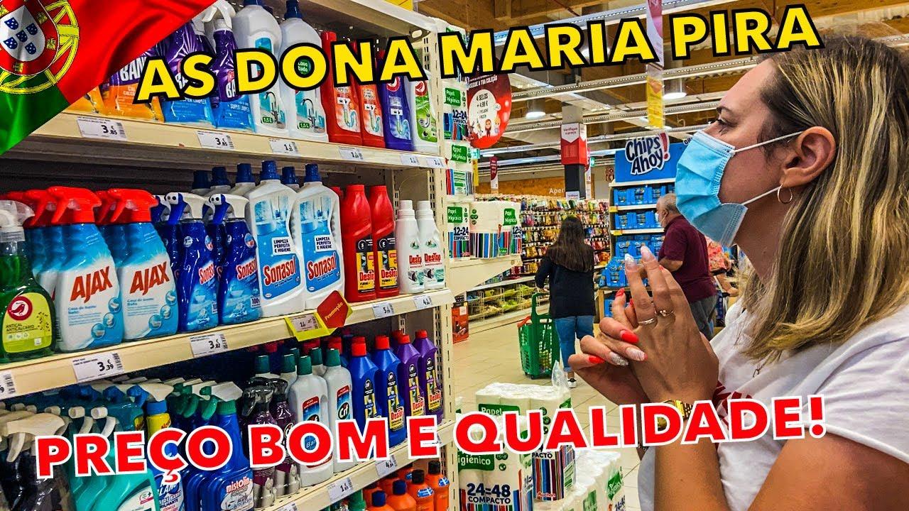 PREÇO DOS PRODUTOS DE LIMPEZA EM PORTUGAL