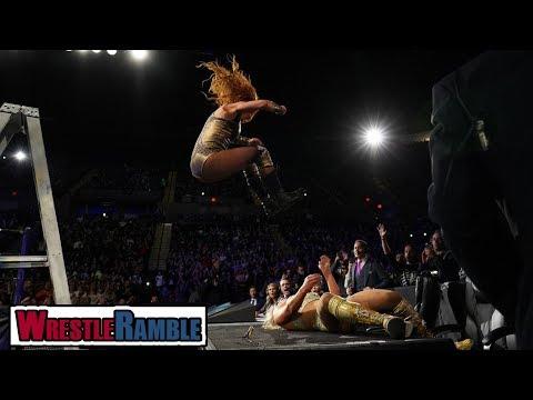 Becky Lynch & Charlotte STEAL THE SHOW! WWE Evolution 2018 Review | WrestleTalk's WrestleRamble