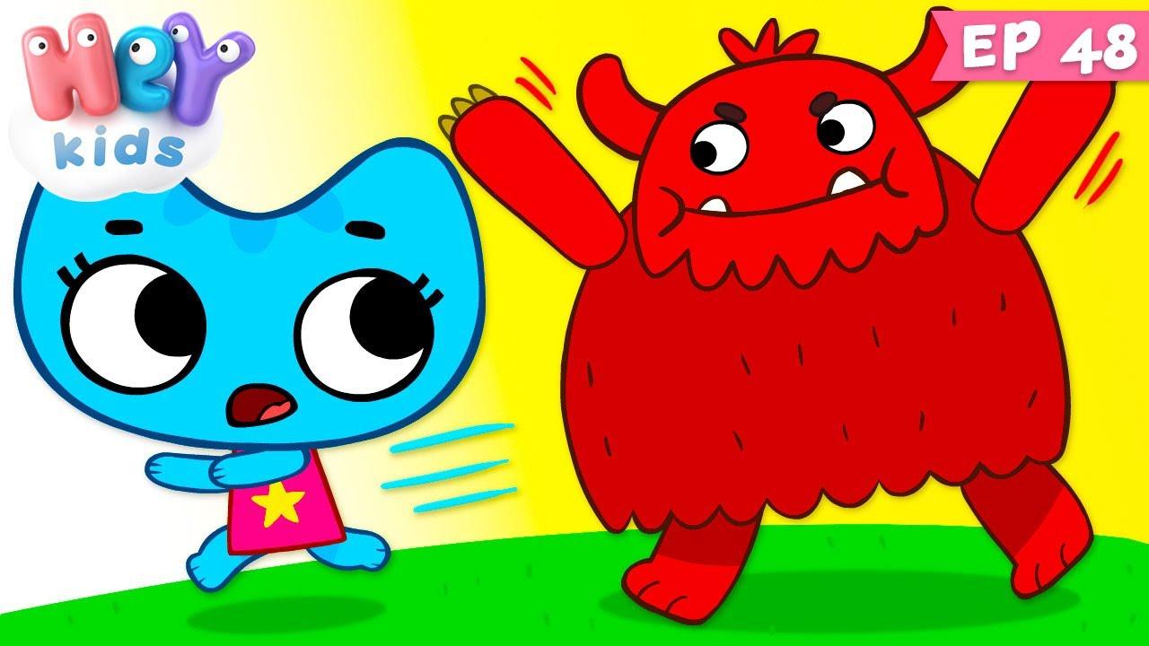Kit și Keit: Și dacă...? | Desene animate | HeyKids