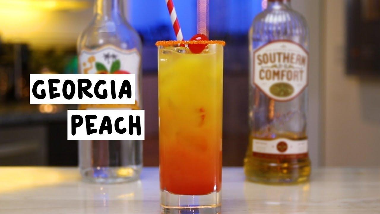 georgia peach drink