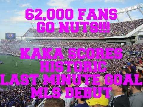 KAKA'S HISTORIC GOAL 62,000 FANS GO NUTS!