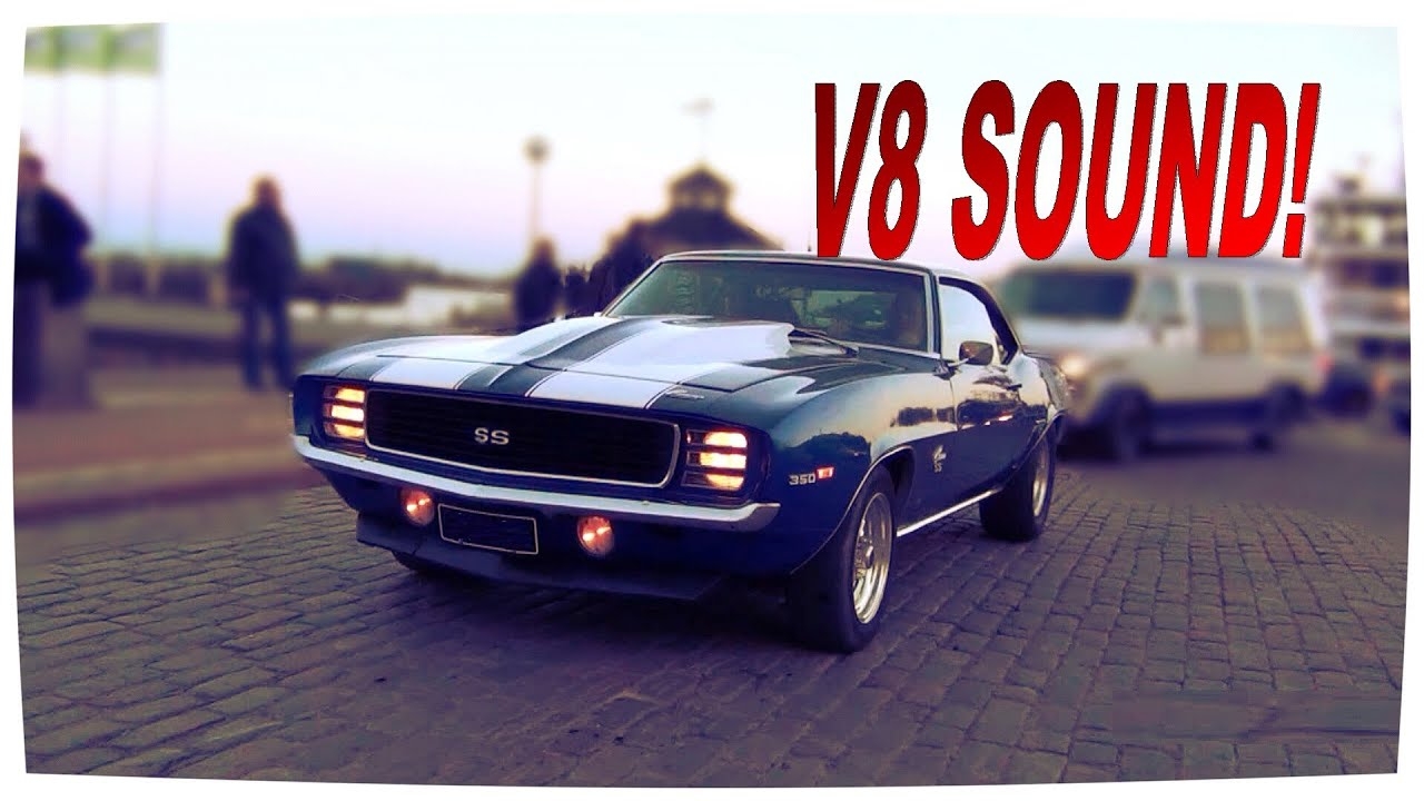 Loud V8 Sound 1969 Chevrolet Camaro Ss 6 6 402 Youtube