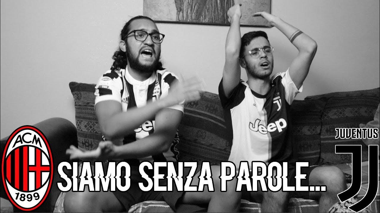 SIAMO SENZA PAROLE...ASSURDO!!! | MILAN 4-2 JUVENTUS | LIVE REACTION TIFOSI JUVENTINI