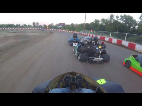 KC raceway Jr 3 heat 2 7/29/17