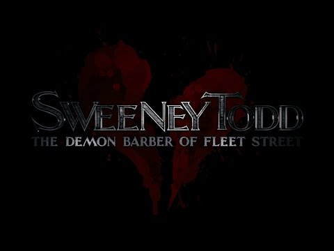SWEENEY TODD - Ah Miss (KARAOKE) - Instrumental with lyrics on screen