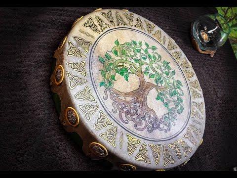Ancestral Thunder: Celtic Tree of Life Sacred Drum Birthing & Awakening.