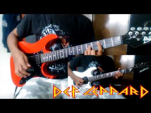 Foolin - Def Leppard - Guitar cover [HD]