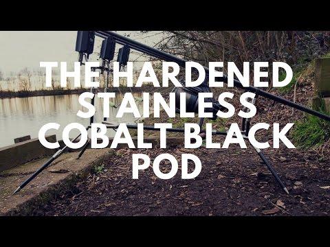 CARP FISHING EQUIPMENT - THE HARDENED STAINLESS COBALT BLACK POD