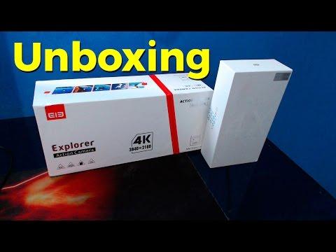 Unboxing Action Cam Ele Explorer + Smartphone Redmi Note 4X