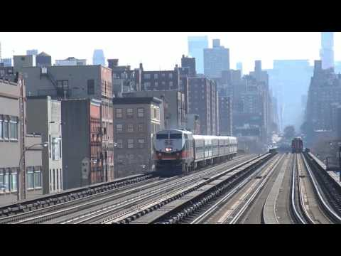 Railfanning NYC: Grand Central, Penn Station, Harlem/125 Station, And More!