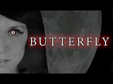 CREEPY MUSIC BOX SONG - Butterfly - Lyrics (Rachel Rose Mitchell)