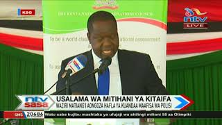 Matiang'i suspends leave for all interior ministry workers until exams are over