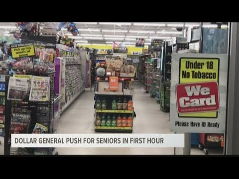 Dollar Stores To Keep First Hour Of Shopping For Seniors