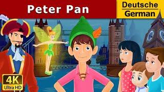 Peter Pan in German | Gute Nacht Geschichte | Märchen | Geschichte | Deutsche Märchen