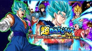 SUPER SAIYAN BLUE VEGITO DOKKAN MULTISUMMONS! Dragon Ball Z Dokkan Battle JP