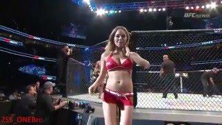 Ring girl Brittney Palmer UFC