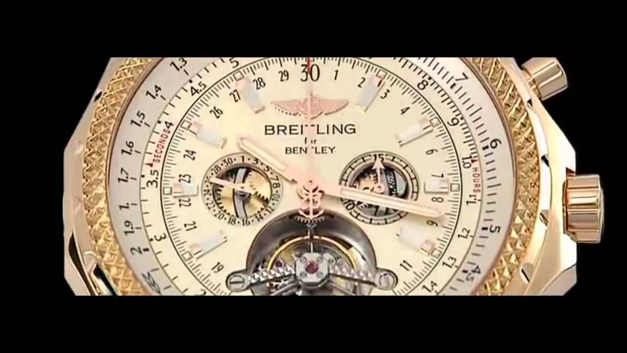 Часы breitling for bentley mulliner tourbillon