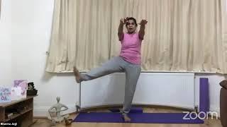 12-05-2021 - Hatha Yoga With Bhavnaben Jogi