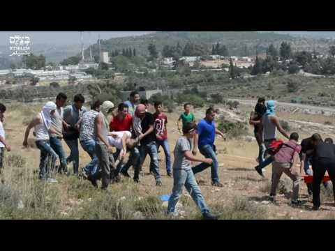 Israeli sniper fatally shoots Palestinian protester who posed no danger, a-Nabi Saleh, May 2017
