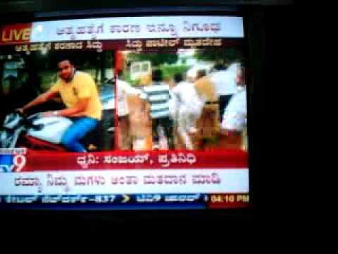 "Rock Star Siddu Patil Tv9 News ""Pooja Travels""  Effort Gym Bhalki Bidar"