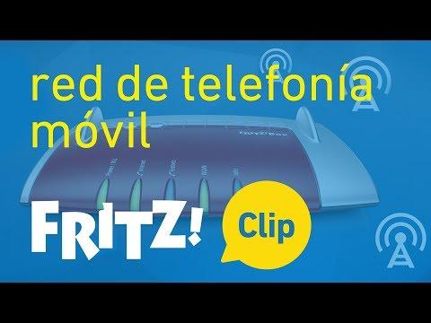FRITZ! Clip – Acceso a internet através de la red de telefonía móvil