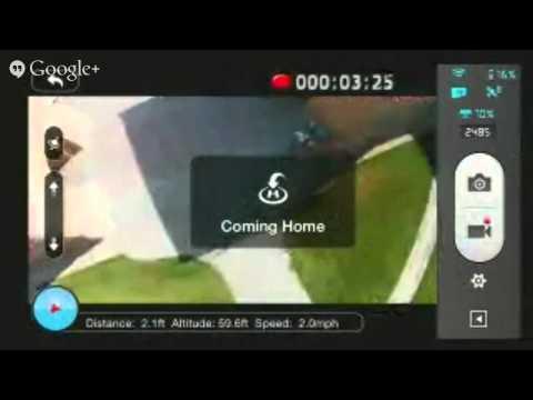 DJI Phantom 2 Vision+ Live Hangout Test 3 (original live stream)